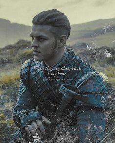 Don't be afraid. Ivar Ragnarsson, Ivar The Boneless, Alex Hogh Andersen, The Last Kingdom, Jon Snow, Vikings, Game Of Thrones Characters, Movie Posters, Fictional Characters
