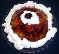 Gelatina Con Frutas Frescas. Recetas, recipes, food...
