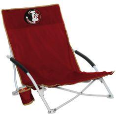 COLLEGE Florida State Seminoles (FSU) Logo Beach Chair