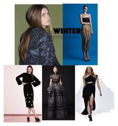 """The UAE's Regional designers offer up their winter best"" by barira-nabeel on Polyvore"