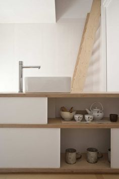Beautiful sink and cabinets