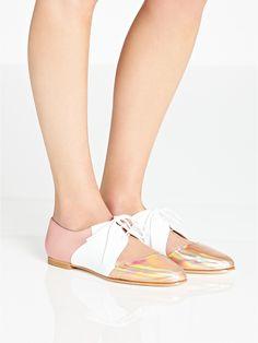 EMMA GO Casey Flat Jazz Shoes - Rose | veryexclusive.co.uk