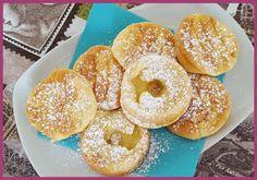 Die Backprinzessin: Gebackene Apfelringe Donuts, Bagel, Doughnut, Bread, Desserts, Food, Deep Frying, Bakeware, Switzerland