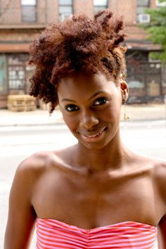 Click the image for Erecia's natural hair photos and regimen