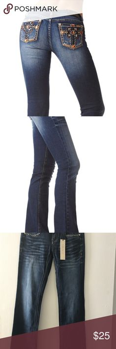 Grace in La jeans If you are a fan of Miss Me , you will love these . Super comfortable .  Very stylish and designed to make an impression . They are brand new with tags . Grace in La Jeans