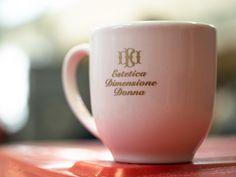 Tazzina da caffè con piattino personalizzata in stampa tampografica ad un colore.  #tazzinecaffe personalizzate #tazzine #tazzinecaffe Mugs, Tableware, Dinnerware, Tumblers, Tablewares, Mug, Dishes, Place Settings, Cups