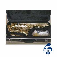 Saxofones, trompetes, clarinetes, flautas transversais e outros instumentos de sopro, compre no Salão Musical de Lisboa.