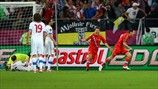 Alan Dzagoev (Russia), 1st Goal, Russia vs Czech Rep. 4-1, Group A Knockout