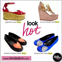 Nosotras ya estamos listas para el calorcito, ¿y vos?  Encontrá tu par de zapatos favorito en ➜ www.tiendadcm.com/listado/Zapatos/27080
