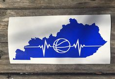 Basketball the heartbeat of Kentucky by EastKyCreations on Etsy