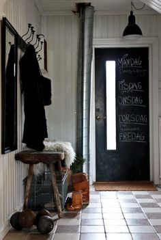 Inspiration {entryway benches}…