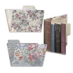 Gypsy Moments - 4x6 file folders - photo file folders to store and organize photos, cards and memories - fit into 7gypsies vintage photo crates