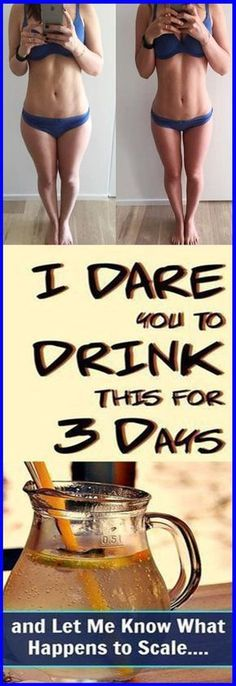 I DARE You to Drink This for 3 Days, and Let Me Know What Happens to Scale #weightloss #health #drinks #remedies #beauty