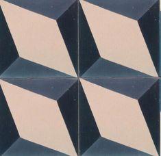 Nadia Blue Encaustic Tile