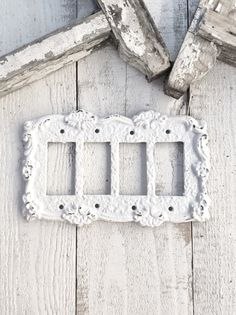 metal wall decor light switch cover quad rocker by