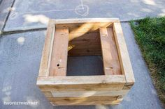 Portobello Road Box To Reduce Body Weight And Prolong Life Trug Crate Vintage Antiqued Wooden Box