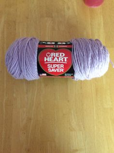 Red Heart Super Saver Pale Plum Yarn by JumperKellyPhotos on Etsy