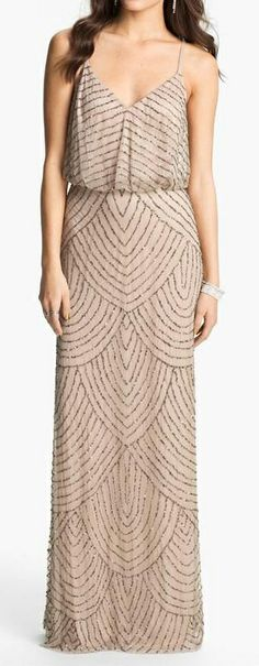 Deco beaded dress