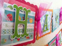 Under The Sea Birthday Banner. $30.00, via Etsy.