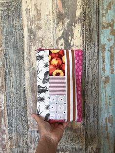 Planner Bag by LowlandOriginals on Etsy Pencil Bags, Patchwork Bags, Travelers Notebook, Small Bags, Moleskine, Beautiful Bags, Crochet Projects, Christmas Holidays, The Outsiders
