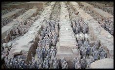 Xi'an, l'armée enterrée, Chine
