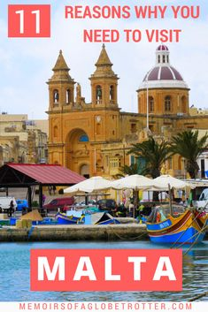 #Malta has lots to offer: gorgeous landscapes, intriguing history, fun festivals, colourful boats and more! This post will inspire you to visit this island nation in the #Mediterranean Sea.