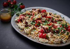 Grillet blomkålssalat med parmesanost