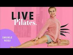 PILATES LIVE   Smukłe NOGI   Ola Żelazo - YouTube Yoga Fitness, Pilates, Exercise, Live, Youtube, Pop Pilates, Ejercicio, Excercise, Work Outs