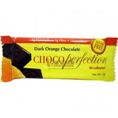 ChocoPerfection Dark Orange or Dark Mint Chocolate bars - low carb made with chicory root