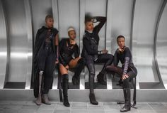 This Photo Series Imagines Four Black Women as a Bad Ass Group of Superheroes