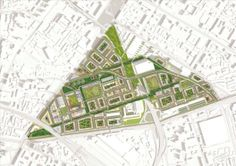 MVRDV Gana concurso para Convertir antigua fábrica en un Barrio de Usos Mixtos