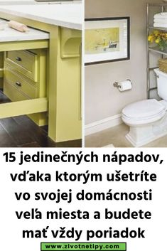15 jedinečných nápadov, vďaka ktorým ušetríte vo svojej domácnosti veľa miesta a budete mať vždy poriadok Cabinet, Storage, Furniture, Home Decor, Clothes Stand, Homemade Home Decor, Larger, Home Furnishings, Closet