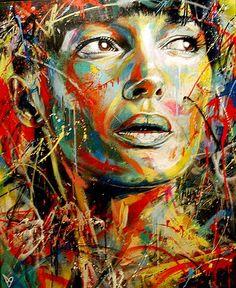 Street Art-David Walker                                                                                                                                                                                 Plus