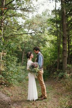 woodland couple