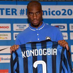 Geoffrey KONDOGBIA; Lens FRA 2010–12, Sevilla SPA 2012-13, Monaco FRA 2013-15, INTER 2015