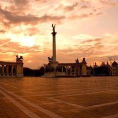 Hősök tere, Budapest (forrás: Mark Mervai Photograpy, facebook.com)
