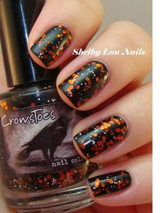 Shelby Lou Nails--CrowToes: Shoot The Butterfly