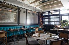 Restaurant Design - featuring L.A. Restaurants Tower Bar, Polo Lounge, Jon & Vinny's, Nobu Malibu Photos   Architectural Digest