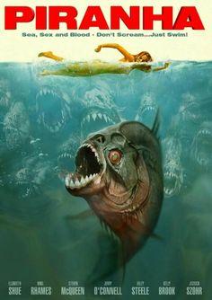 Piranha / Jaws Style