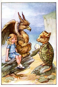 Alice in Wonderland illustration - by A.L. Bowley, 1926 | Flickr