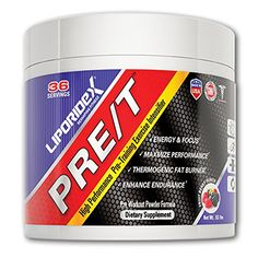 Liporidex PRE/T Pre Workout Supplement Powder. Build Muscle, Increase Performance and Energy. Beet Root and Agmatine for Extended Nitric Oxide Release. Fruit Berry Punch Flavor - 36 Servings *** Read more reviews of the product by visiting the link on the image.