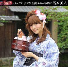 【巾着竹かごバッグ 2way 浴衣 和柄小花 】 竹籠 和柄 浴衣 かごバッグ 桜【楽天市場】