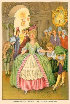 Ella Dolbear Lee, Cinderella at the Ball (1917)