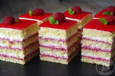 Czech Recipes, Pastry Cake, Yummy Cakes, Cheesecake, Cooking, Yum Yum, Minis, Food, Deserts