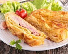 Feuilleté familial jambon et emmental simplissime : http://www.fourchette-et-bikini.fr/recettes/recettes-minceur/feuillete-familial-jambon-et-emmental-simplissime.html