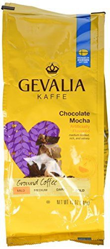 Gevalia Kaffe Coffee Chocolate Mocha Ground 12oz Bag Pack of 2 -- Find out more about the great product at the image link.
