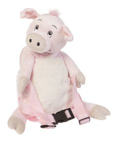 Take a look at this Pig Toddler Backpack with Reins by Bobo Buddies on #zulily today!