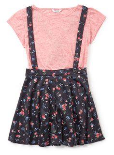 Skater skirt with tee - skirts - older girls age 12- 13