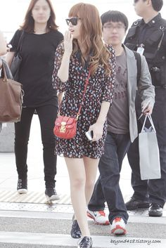 [120609] Jessica at Incheon Airport to Taiwan