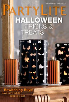 #PartyLiteCanada Halloween online catalogue